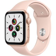 Apple Watch SE GPS 44mm Aluminum Case with Sport Band Gold/Pink (MYDR2RU/A)
