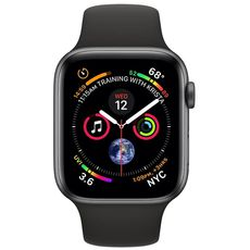 Apple Watch Series 4 GPS 40mm Aluminum Case with Sport Band grey/black