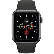 Apple Watch Series 5 GPS 40mm Aluminum Case with Sport Band Grey/Black