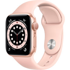 Apple Watch Series 6 GPS 40mm Aluminum Case with Sport Band Gold/Pink Sand (РСТ)