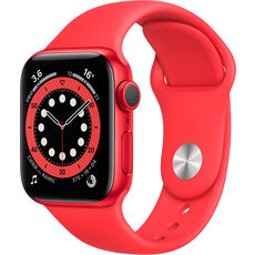 Apple Watch Series 6 GPS 40mm Aluminum Case with Sport Band Red (РСТ)