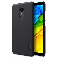 Задняя накладка для Xiaomi Redmi 5 Plus чёрная Nillkin