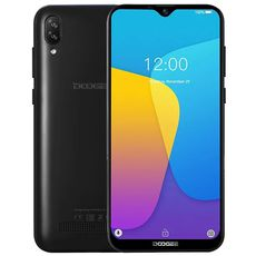 Doogee X90 16Gb+1Gb Dual Black (РСТ)