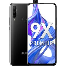 Honor 9X Premium 128Gb+6Gb Dual LTE Black (РСТ)