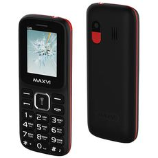 MAXVI C26 Black Red (РСТ)