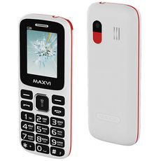 MAXVI C26 White Red (РСТ)