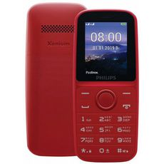 Philips Xenium E109 Red (РСТ)