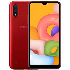 Samsung Galaxy A01 Red (РСТ)