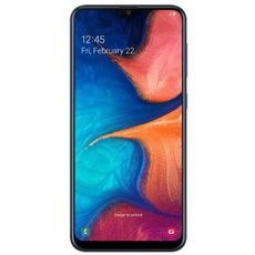 Samsung Galaxy A20 SM-A205F/DS 32Gb Dual LTE Blue (РСТ) - Цифрус