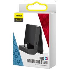 Док станция Baseus Type-C SW Adjustable Charging Stand GS10 Черный