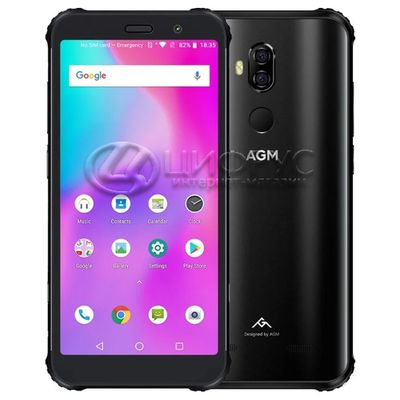 AGM X3 64Gb+6Gb Dual LTE Black - Цифрус