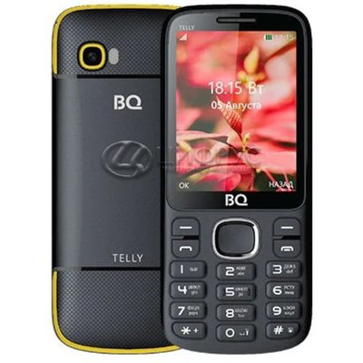 BQ 2808 TELLY Black yellow - Цифрус