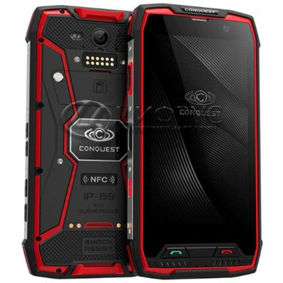 Conquest  S11 64Gb+4Gb Dual LTE Red - Цифрус