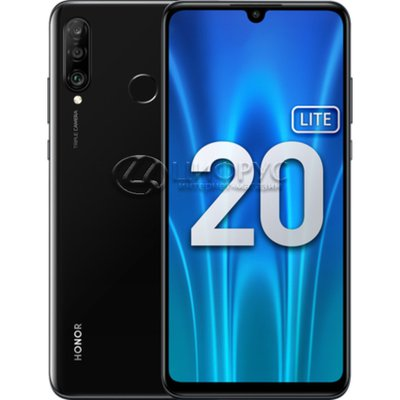 Honor 20 Lite 128Gb+4Gb Dual LTE Midnight Black (РСТ) - Цифрус