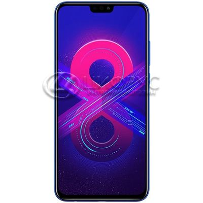 Honor 8X 128Gb+4Gb Dual LTE Blue (РСТ) - Цифрус