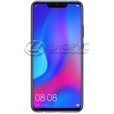 Huawei Nova 3 128Gb+4Gb Dual LTE Purple (РСТ) - Цифрус