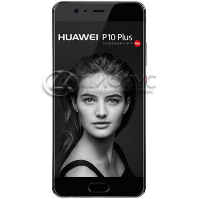 Huawei P10 Plus 128Gb+6Gb Dual LTE Black - Цифрус
