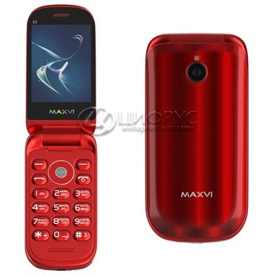 MAXVI E3 Radiance Red (РСТ) - Цифрус