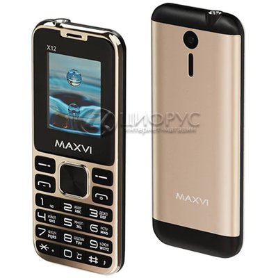 MAXVI X12 Metallic Gold (РСТ) - Цифрус