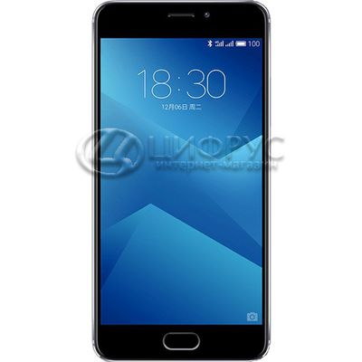 Meizu M5 Note (M621H) 32Gb+3Gb Dual LTE Grey (РСТ) - Цифрус