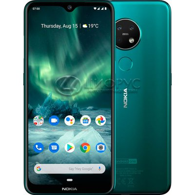 Nokia 7.2 64Gb Green (РСТ) (Уценка) - Цифрус