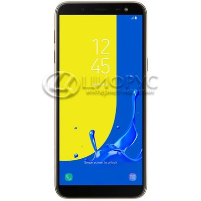 Samsung Galaxy J6 (2018) SM-J600F/DS 32Gb Gold (РСТ) - Цифрус