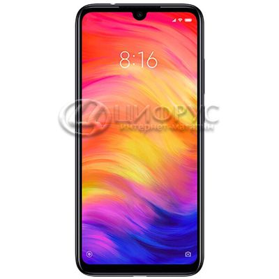 Redmi Note 7 (Global) 128Gb+4Gb Dual LTE Black - Цифрус
