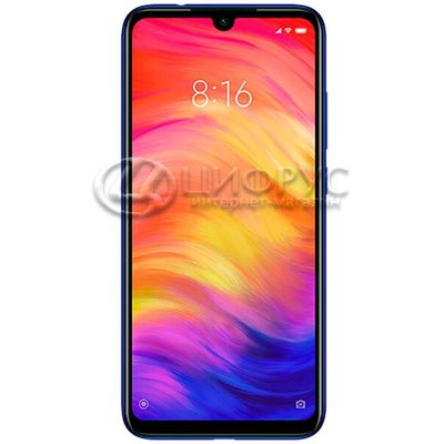 Redmi Note 7 (Global) 128Gb+4Gb Dual LTE Blue - Цифрус